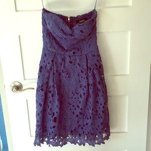 Blue NWOT LULU dress XS